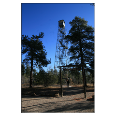 Fire-Watchtower im Kaibab National Forest